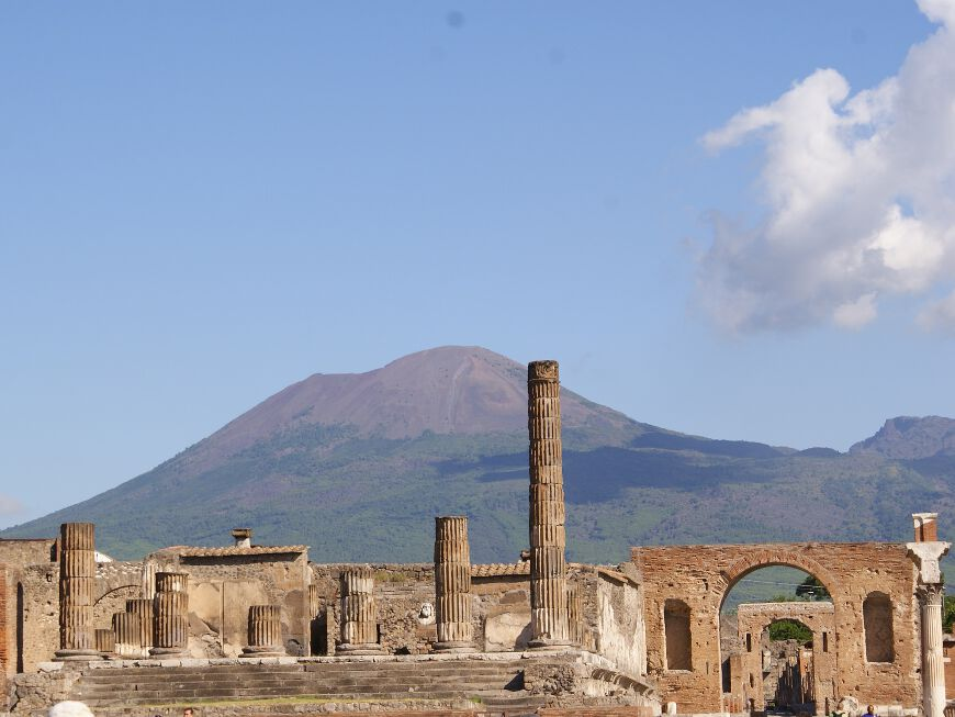 Pompei-Ercolano and Mt. Vesuvius