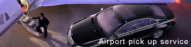 airport pick up service/