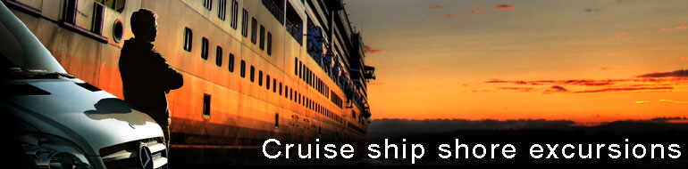 cruise ship shore excursions/